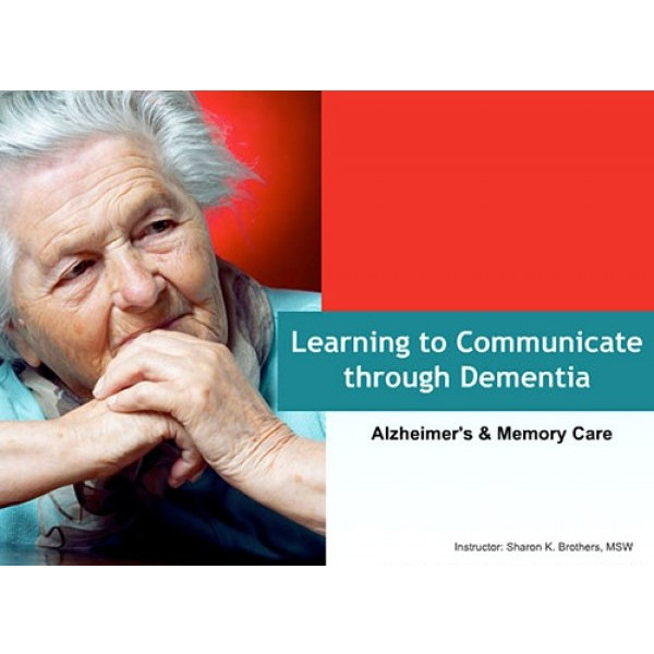 Learning to Communicate Through Dementia