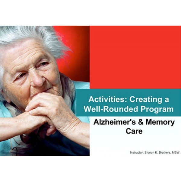 Activities: Creating a well-rounded program