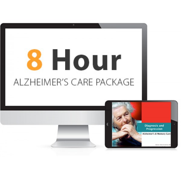 8 Hour Alzheimer's Care Advanced Package