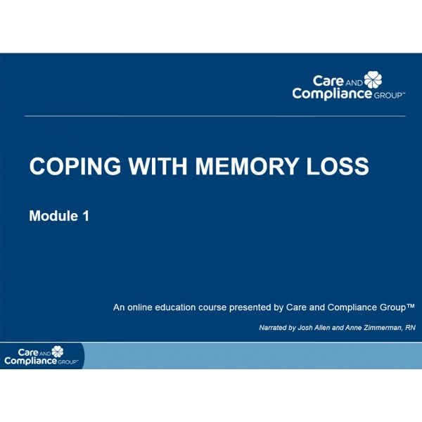 Coping with Memory Loss