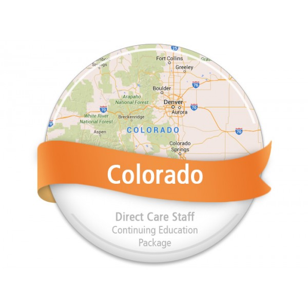 Colorado Direct Care Staff Continuing Education Package
