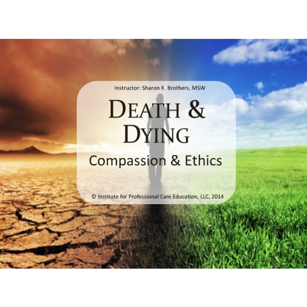 the issue of death and dying in healthcare Death can occur after a long illness, such as cancer, or suddenly and unexpectedly, such as after an injury or sudden infant death syndrome  it is difficult for families to understand and accept the death of a child.