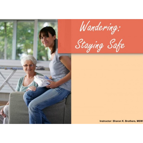 Wandering: Staying safe