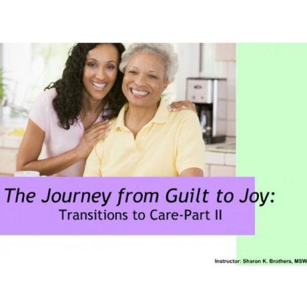 Journey from Guilt to Joy