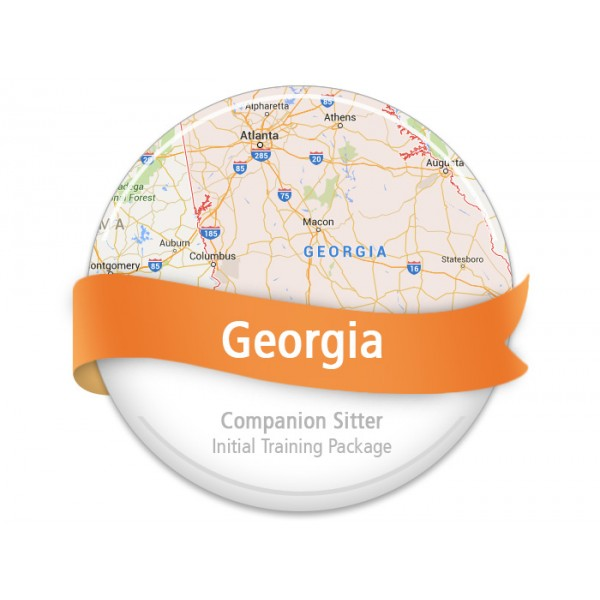 Georgia Companion Sitter Initial Training Package