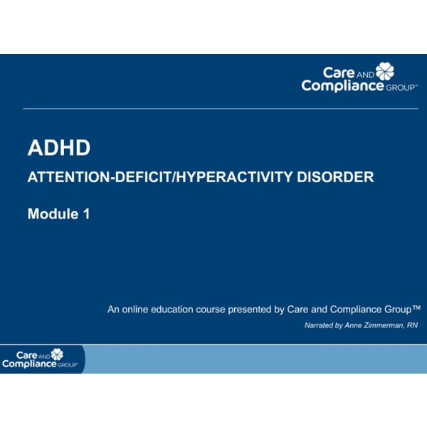 ADHD: Attention-Deficit/Hyperactivity Disorder