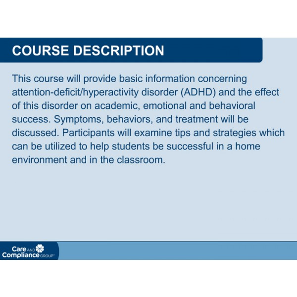 an essay on the attention deficit hyperactivity disorder adhd and its treatment
