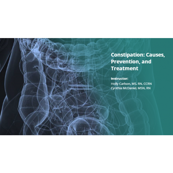 Constipation: Causes, Prevention, and Treatment