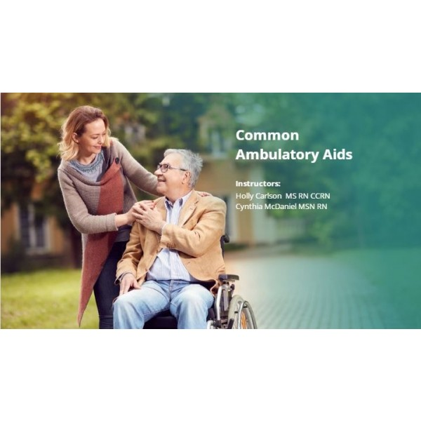 Common Ambulatory Aids