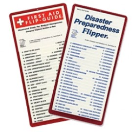 First Aid and Disaster Preparedness Flip Chart Bundle